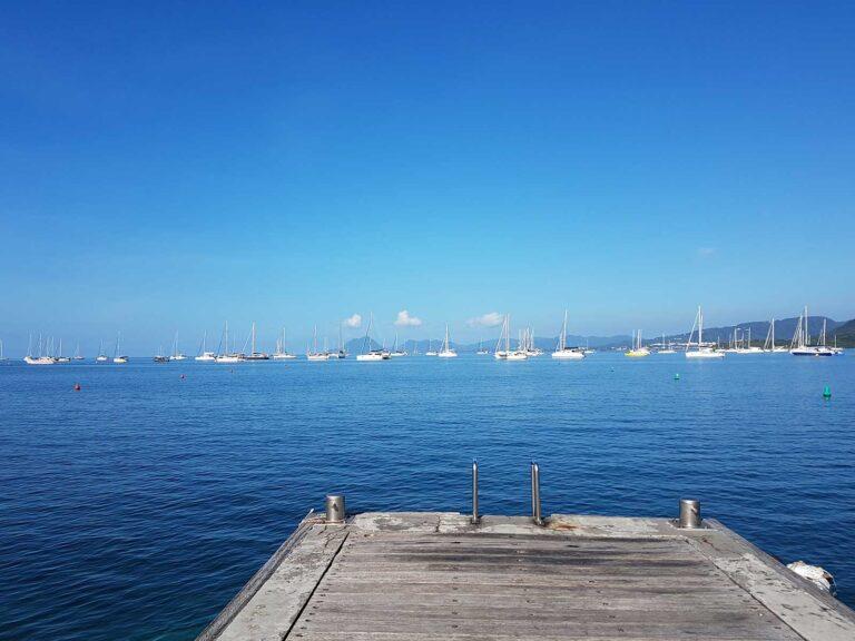 Sainte Anne's pier